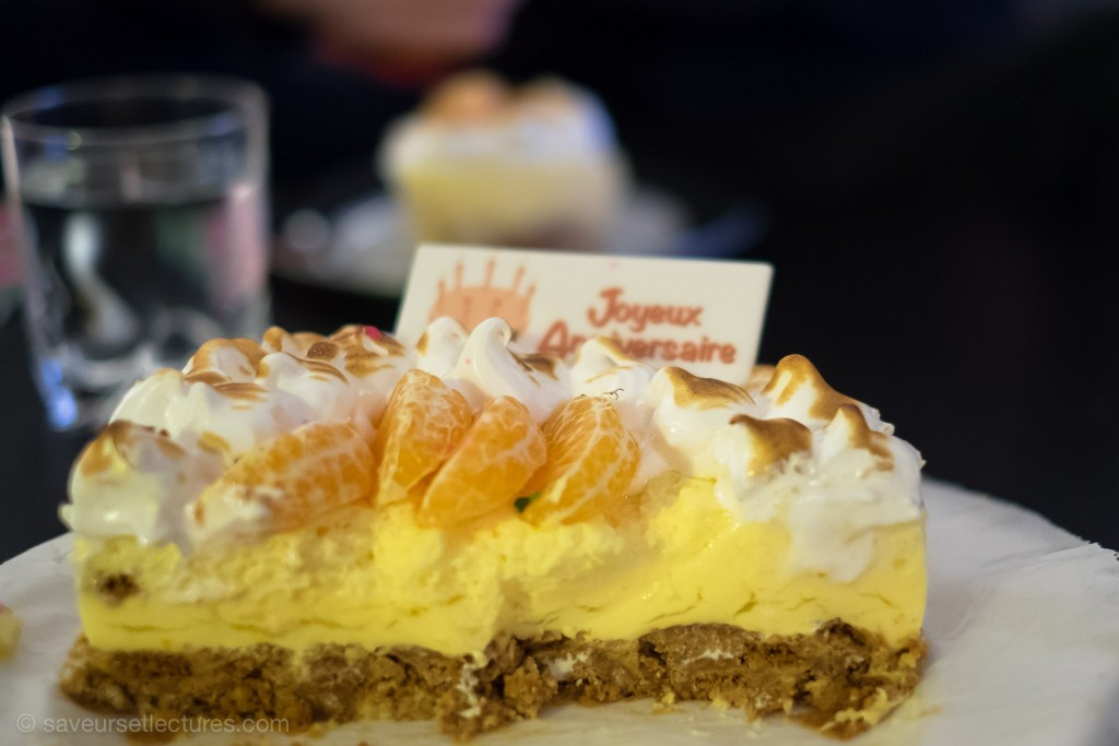 cheesecake clementine decoupe